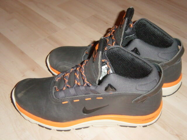 Nike LunarRidge OMS, anthrazit/orange, US 8,5, EUR 42
