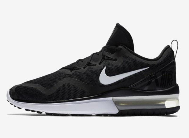 Nike Air Max Fury hombres tamaño 10,5 Corriendo Zapatos nuevo Zapatillas Negro aa5739 001 nuevo Zapatos 0db479