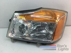 2008 - 2015 Nissan Titan Halogen Headlight w/ Wiring ...