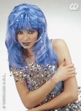 Ladies Long Blue Wig Katy Perry Mermaid Fancy Dress