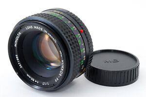 034-APP-Near-Mint-034-Minota-MC-Rokkor-PF-50mm-F1-7-Manual-Focus-Lens-From-Japan-1160