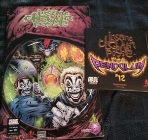 Insane-Clown-Posse-The-Pendulum-12-Comic-Book-amp-CD-set-twiztid-horrorcore-icp