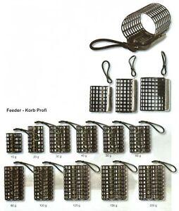 FUTTERKORB-FEEDER-KORB-PROFI-rund-offen-Metall-NEU