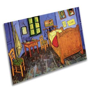 Dettagli su Vincent Van Gogh camera da letto-vintage art print poster-A1 A2  A3 A4 A5- mostra il titolo originale