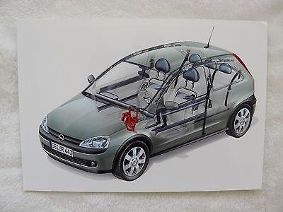 Sicherheitspaket Presse-foto Werk-foto Pressfoto 06/2001 o0038 Opel Corsa