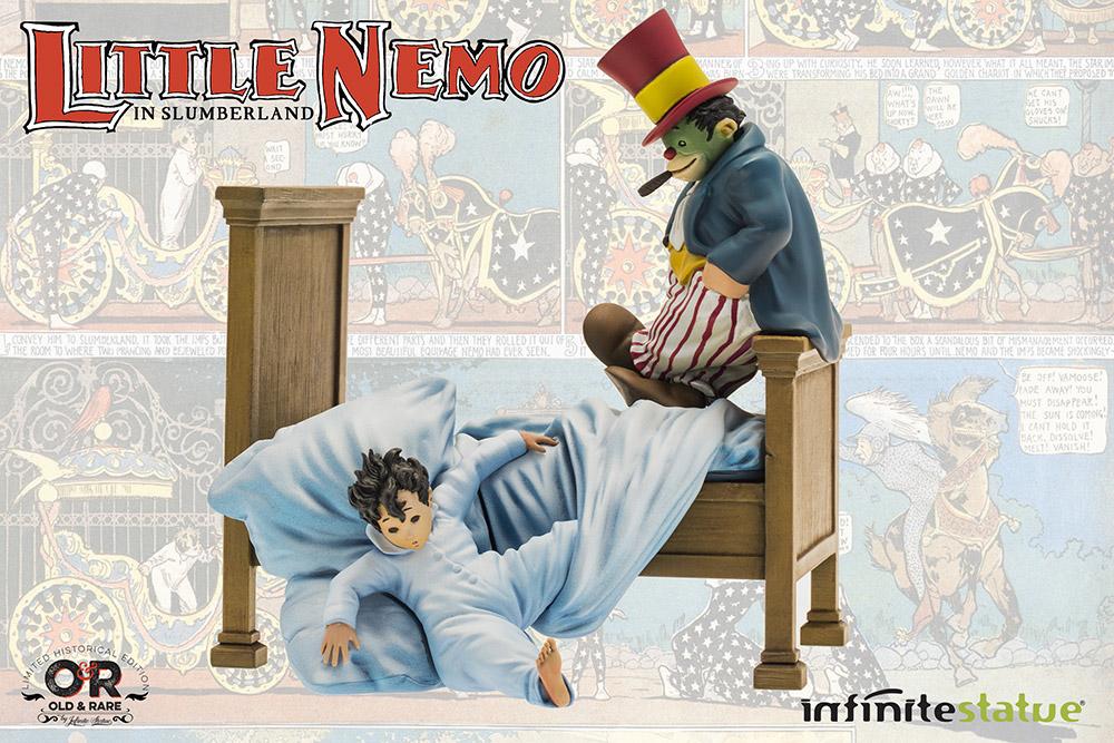 Infinite Statue Old & Rare Little Nemo in Slumberland Resin Statue 21 cm