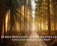 GUIDED MEDITATION FOREST JOURNEY CD, VISUALISATION RELAXATION