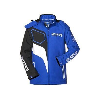 Official Yamaha Racing Paddock Blue Men's Windbreaker Jacket