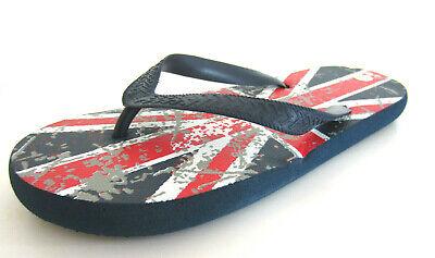 N0R022 Childrens Union Jack Flip Flops