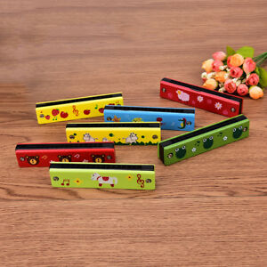 Educational-Musical-Wooden-Harmonica-Instrument-Toy-for-Kids-Gift-Random-colorDD