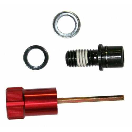 Rock Shox Rebound Adjuster Knob//Bolt Kit Aluminum red