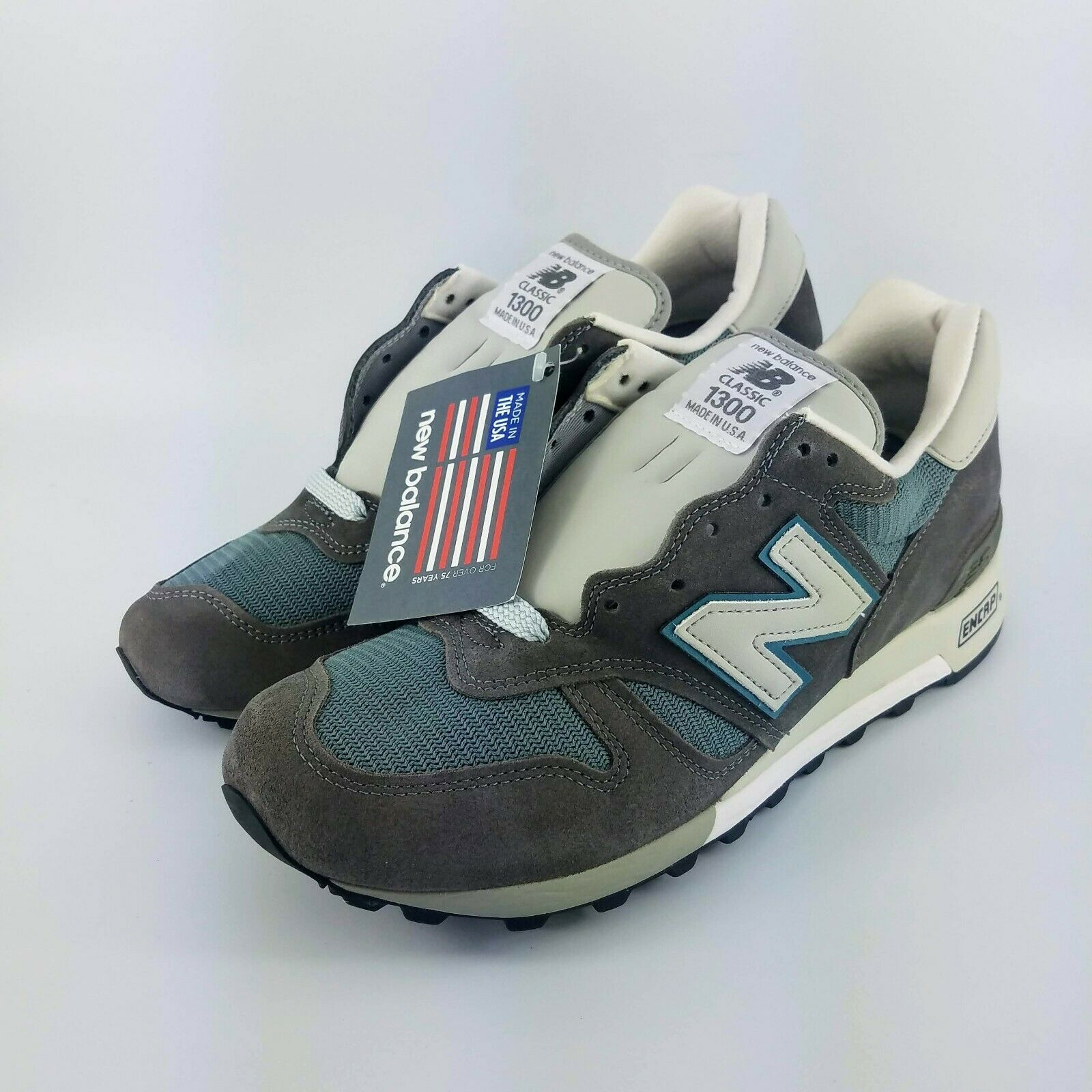 New Balance 1300 Heritage Made in USA Running shoes - Grey - M1300CLS - 10.5 2E