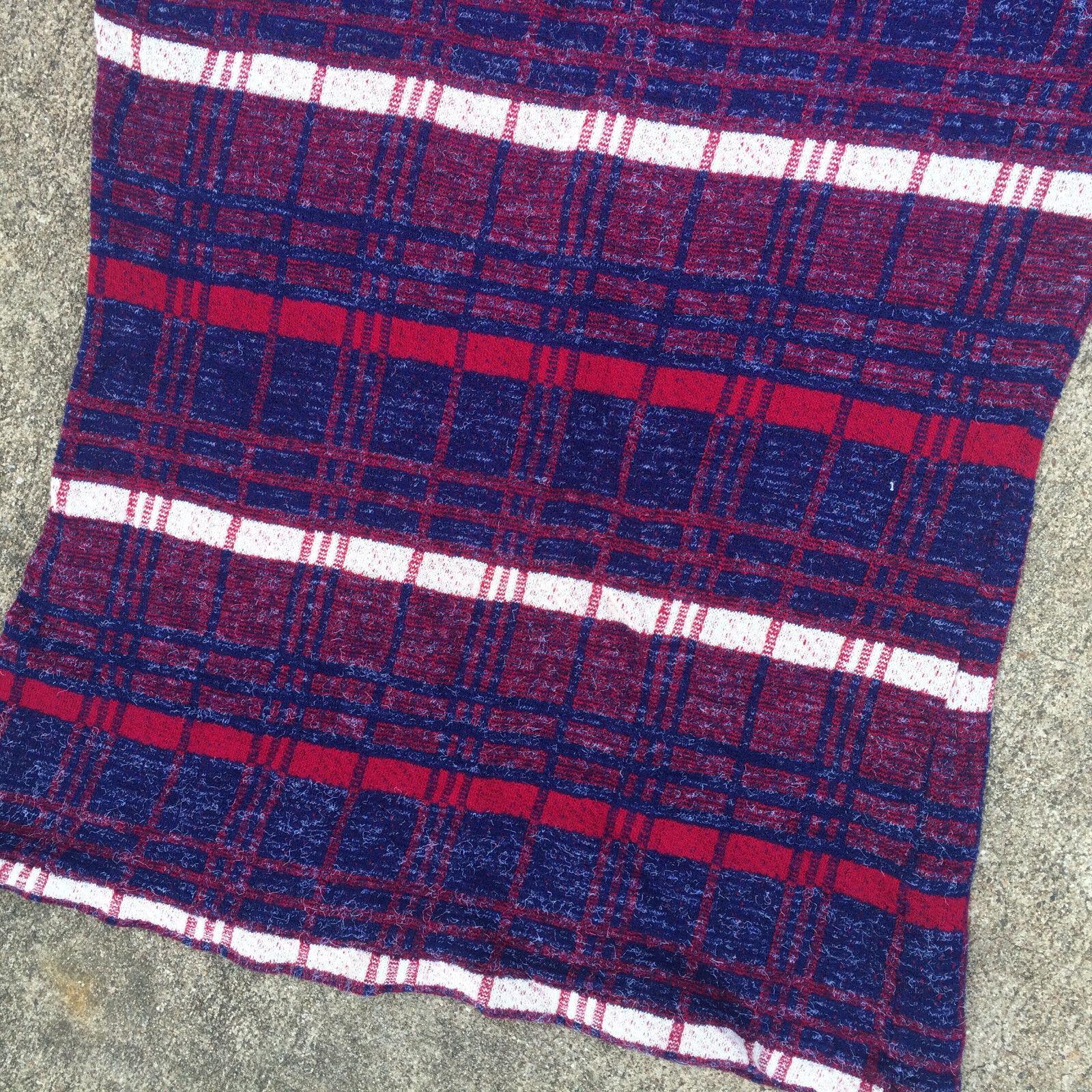 Rare Knit Vintage 1950's 60s Surf Stripe Blank T … - image 4
