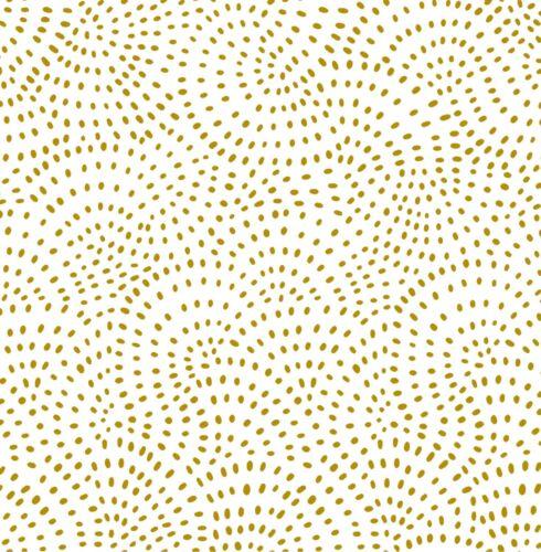 gold metallic Dashwood Studio Twist Cotton fabric FQ