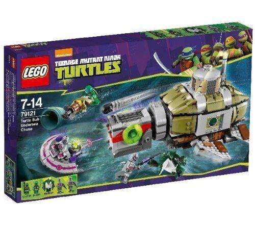 LEGO ® TARTARUGHE NINJA ™ 79121 inseguimento in Turtle-U-BOOT NUOVO NEW OVP MISB
