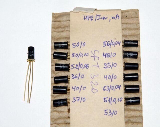 SFT306 MATCHED PAIR//QUAD Germanium Transistors PNP 18V OC44 2N2614 HFE=45//60//70