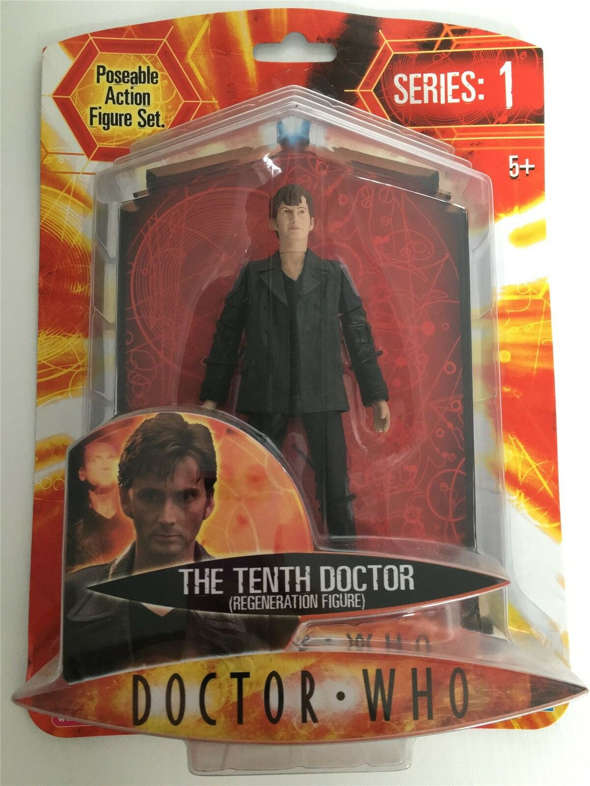 Doctor Who - TENTH REGENERATION - Series 1 Figure - DR 10th NEW
