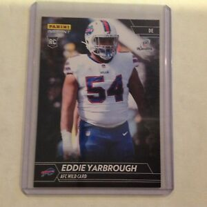 sale retailer 99114 f03a1 Details about Eddie Yarbrough #414 RC Bills / Wyoming 1/1 Made 2017 Panini  Instant NFL Black
