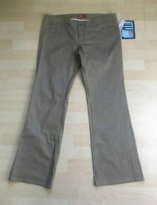 Dickies Girl Black Classic 5 Pocket Pant HH160S Low Rise Boot Cut