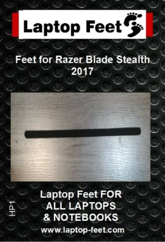 Laptop rubber feet for Razer Blade Stealth compatible set 1 pc self adh. by 3M