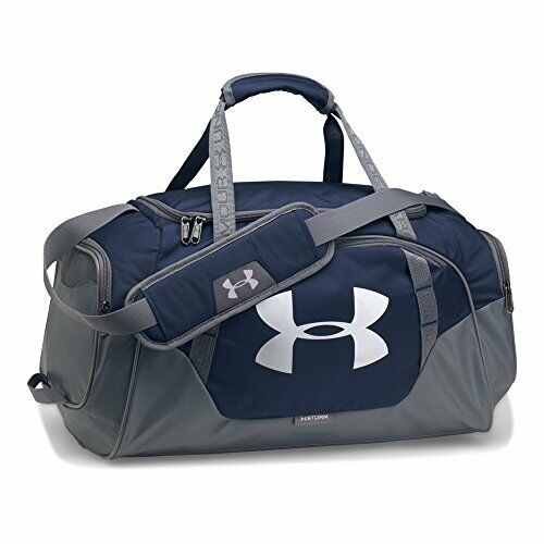 Under Armour 1300214 UA Undeniable Duffle Small Mid Nvy  SLV 410 for ... f3a5d2fe28f01