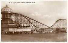The Big Dipper Pleasure Beach Blackpool unused RP pc