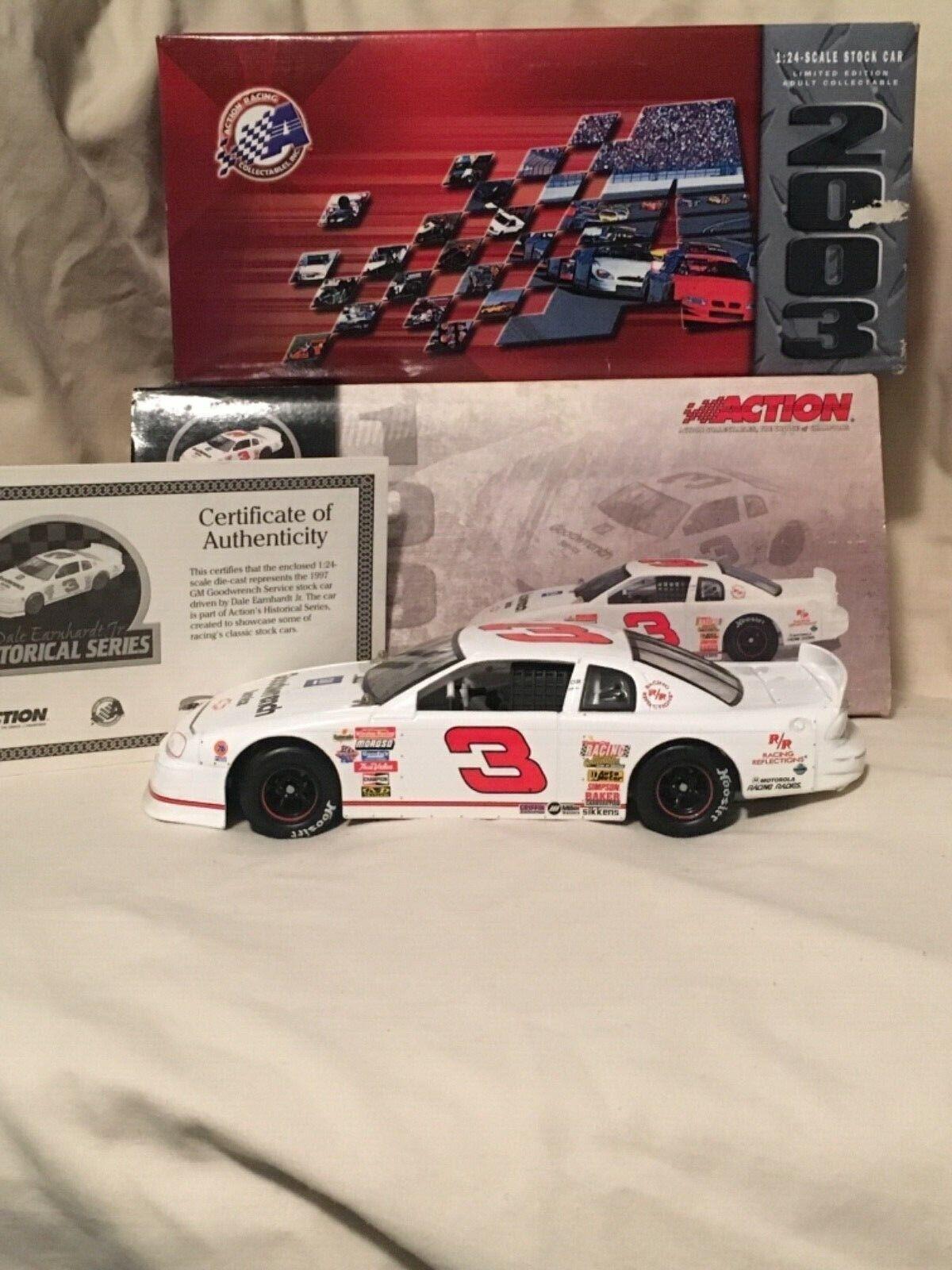 2003 NASCAR GM1997 Monte Carlo Dale Earnhardt Jr. 1 24 Historical Action Busch