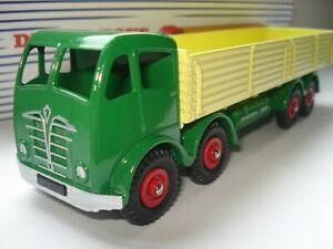 Atlas-Dinky-Supertoys-901-Green-Yellow-Foden-8-Wheel-Wagon-Mint-Boxed
