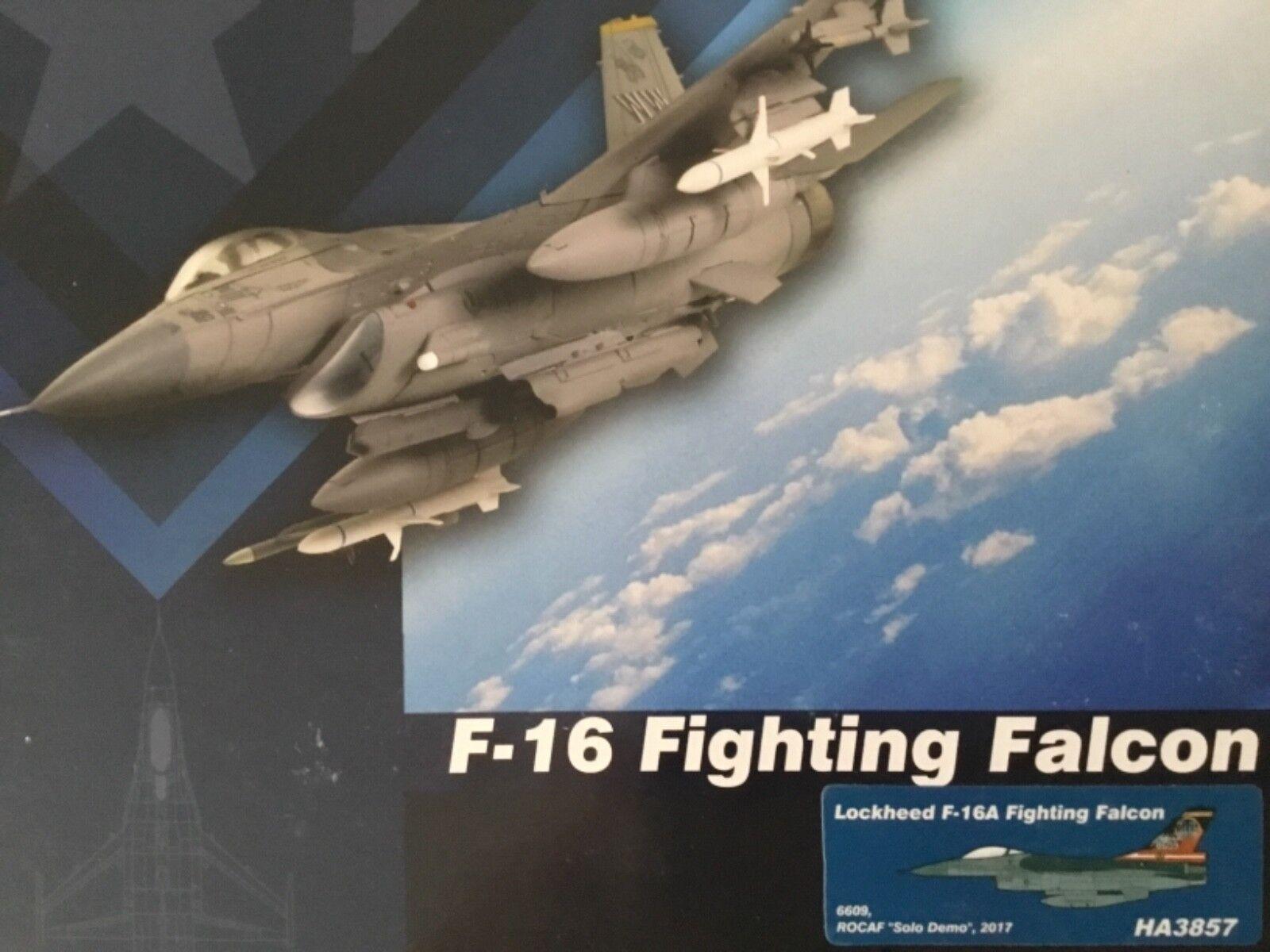 Hobby Master 1:72 HA3857 F-16 Fighting Falcon ROCAF solo Demo