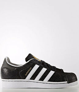 adidas superstar black and white size 3.5