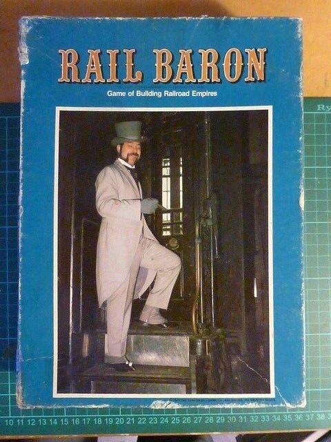 Rail BARON (complet) par Avalon Hill Chemin de fer jeu