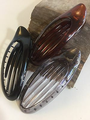 2 x Haarklammer LANG 11,5 cm 5 lange Zähne Kamm Klammer Schnabelspange
