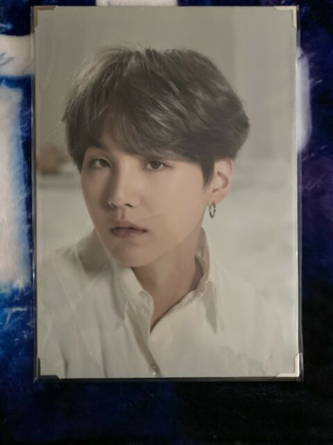 BTS Official Map of the Soul Tour PREMIUM PHOTO - SUGA/YOONGI (US seller)