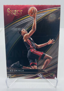 2019-20-PANINI-SELECT-KZ-OKPALA-COURTSIDE-251-ROOKIE-RC-PSA-PRIZM-ZION-HEAT-SSP