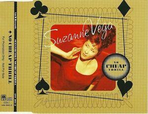 Suzanne-Vega-Maxi-CD-No-Cheap-Thrill-Promo-England-M-EX