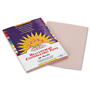 58 lbs. PK Assorted PAC 9 x 12 50 Sheets//Pack SunWorks Construction Paper