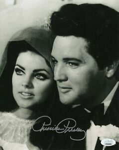 Priscilla Presley Hand Signed 8x10 Photo, Autograph, Naked