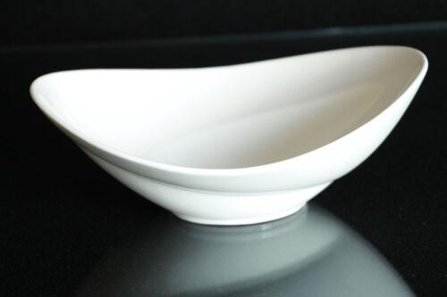 6er Set Obst Schale Obstschale Salatschale Porzellan weiß Schüssel ca 24//18 cm