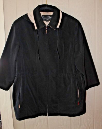 Hood Xl Corporation Black Tan Glades En Coat Aftagelig Bromley Northern q7BzE7