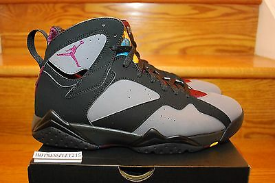 2015 Nike Air Jordan Retro VII 7 Bordeaux Graphite 304775-034 GS & MEN Sz: 4y-14