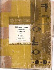 International 250 Series C Crawler Loader Parts Manual