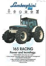 LAMBORGHINI TRACTOR 165 RACING BROCHURE -VH6 #2