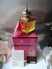 AMOUAGE DIA FEMME 50ml EDT RARE 2002 24ct GOLD PLATED CRYSTAL BOTTLE OMAN CARD