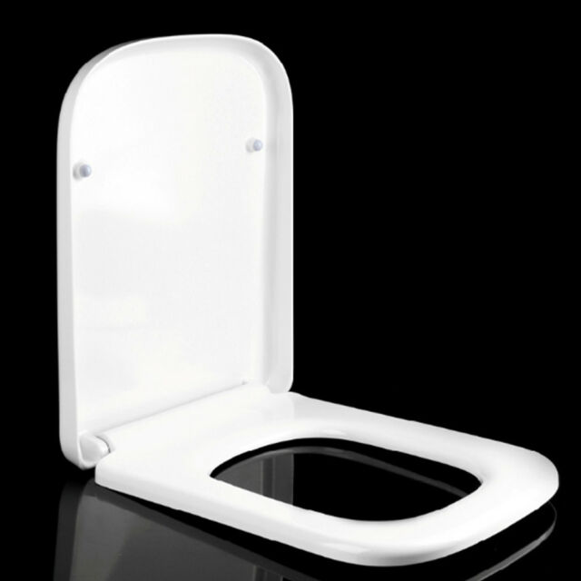 Sensational White Square Soft Slow Close Toilet Seat With Top Fixing Hinges Limited Stock Onthecornerstone Fun Painted Chair Ideas Images Onthecornerstoneorg