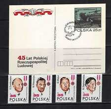 POLAND 1989 -ZN**3058-61** ST 89091 - 45 years Polish People's Republic