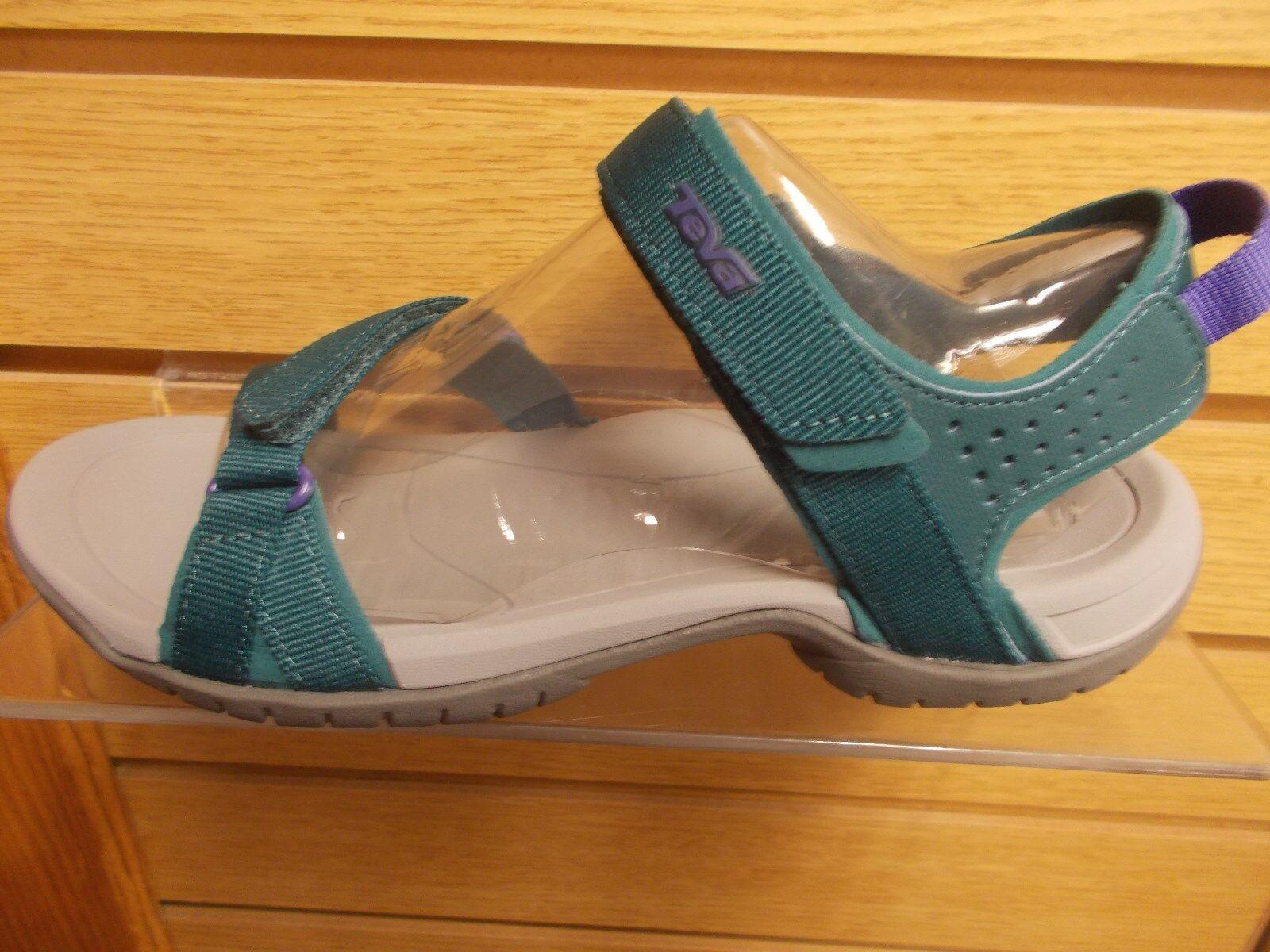 donna TEVA VERRA SANDAL FOR WATER OR WALKING WALKING WALKING TEAL NEW MULTIPLE DimensioneS 30ac77