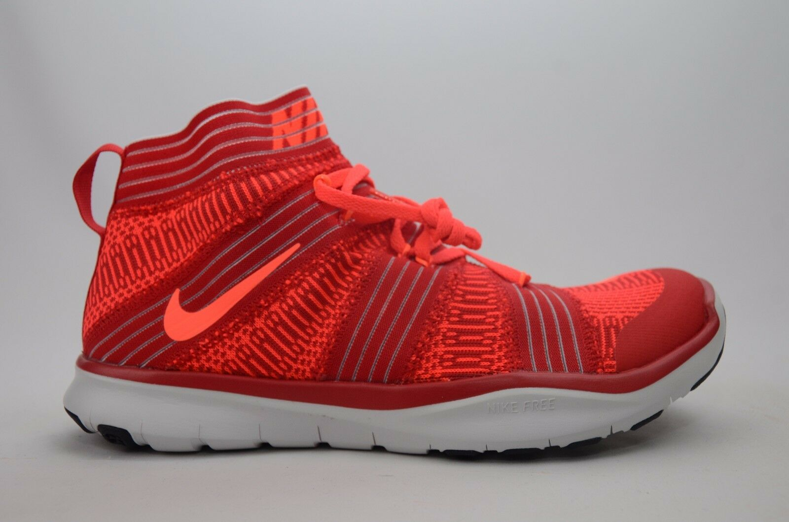 Nike Free Train Virtue Red orange Men's Size 8-11.5 New in Box 898052 600