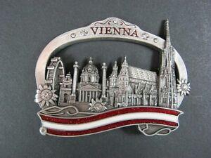 Magnet-Wien-Vienna-Stephansdom-Austria-Osterreich-Souvenir-aus-Metall-Neu