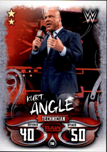 Kurt Angle Raw Karte 116 Topps Slam Attax Live