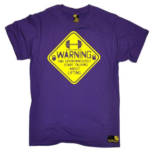 Può iniziare a parlare di sollevamento da uomo swps T-Shirt Regalo di compleanno allenamento training